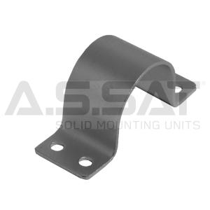 A.S.SAT Solid Mounting Units - Mastschelle  60mm, 4-Loch