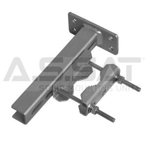 A.S.SAT Solid Mounting Units - Mastschelle / universal  Ø 38 - 60mm / Variante II