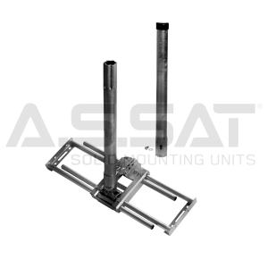 A.S.SAT Solid Mounting Units - Dachsparren- Masthalter universal, Variante I