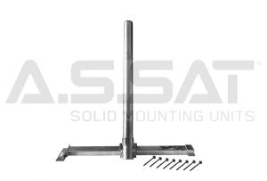 A.S.SAT Solid Mounting Units - Goliat 800 / Sparrenhalter 1100Nm, Rohr Ø60x0,9m