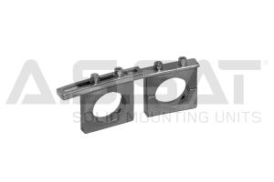 A.S.SAT Solid Mounting Units - ASSAT/ Feedhalter- universal / 2-fach