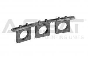 A.S.SAT Solid Mounting Units - ASSAT/ Feedhalter- universal / 3-fach