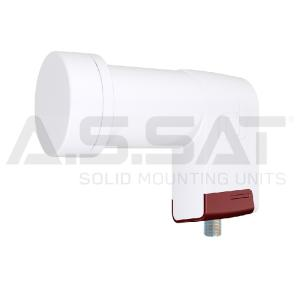 A.S.SAT Solid Mounting Units - Inverto Red LNB / Universal Single / 0,3 dB